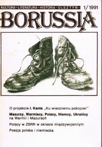 Borussia nr 1 z 1991 roku - okładka