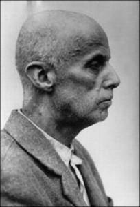Arcyksiążę Wilhelm Habsburg w czasie uwięzienia, źródło Wikipedia