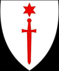 Herb Zakonu Rycerzy Chrystusa tzw. dobrzyńców, źródło Wikipedia
