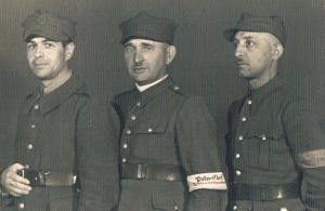Stalag IA Stablack, nn osoby,18.07.1942, foto od Barbary Trojanek ze Zbąszynia, popr.