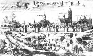 Braniewo - Braunsberg, Christoph Hartknoch's Alt- und neues Preussen, 1684.